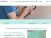 screenshot http://www.fuiterecherche-paris.com Recherche de fuite