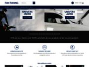 Fun Tuning, site de vente d'accessoires de moto et auto