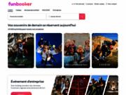 screenshot http://www.funbooker.com Activités de loisirs