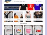 Des t-shirts funky, groovy, fashion