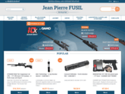 screenshot http://www.fusil-calais.com/fr/ Armurerie Jean Pierre Fusil