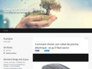 screenshot http://gabrielbisiaux.hautetfort.com/ un écologiste à deuil la barre