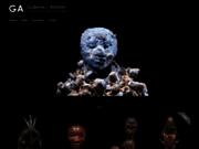 screenshot http://galerie-latelier.com/objets-art-africain/ african mask