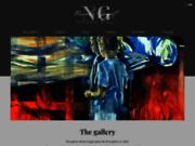 screenshot http://www.galerie-nicolegogat.com l'art et la manière chez nicole gogat