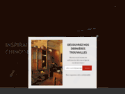 screenshot http://www.galeriecristo.com meubles chinois - antiquités chinoises