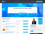 Site de recrutement dans le jeu vidéo et l'eSport
