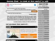 screenshot http://gaming.zone.online.fr gaming zone ! l'annuaire des jeux gratuit en ligne