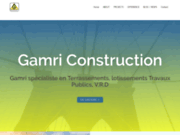 screenshot http://www.gamriconstruction.com gamri construction company