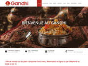 screenshot http://www.gandhi-strasbourg.fr/ RESTAURANT INDIEN SUR STRASBOURG