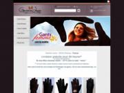 Vente de gants d'exception en cuir pour femmes et hommes