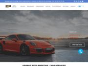 screenshot http://www.garage-auto-prestige.com Spécialiste en réparation véhicule de luxe et sport