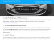 screenshot http://www.garage-automobile-73.com/ atelier automobile à drumettaz 73