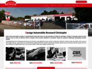 screenshot http://www.garage-brossard-85.com garage en Vendée 85
