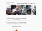 screenshot http://www.garage-central.fr automobile: entretien - réparation - achat - vente