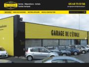 screenshot http://www.garage-de-letoile.com/ Garage de l'Étoile