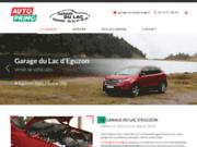 screenshot http://www.garage-du-lac-eguzon-36.com/ garage Auto Primo et contrôle technique Autosur à Eguzon-Chantôme 36270