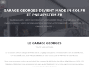 screenshot http://www.garage-georges.com garage georges