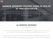 screenshot http://www.garage-georges.com garage georges