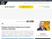 Centre de réparation auto à Marseille