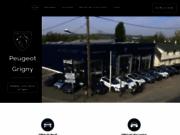 screenshot https://www.garage-peugeot-grigny.fr Garage Peugeot à Grigny