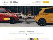 screenshot http://www.garage-schlaeppi.com/ garage Renault Dacia à Huriel 03380