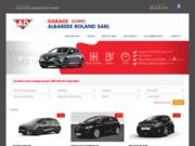 screenshot http://garagealbarede.fr garage Roland Albarède
