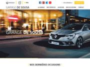 screenshot http://www.garagedesousa17.com/ Garage De Sousa