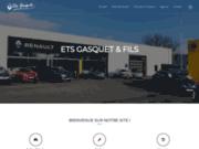 screenshot http://www.garagegasquet-renault.fr/ ETS Gasquet & Fils