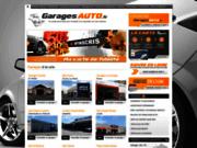 screenshot http://www.garagesauto.fr/ Garages automobiles