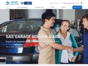 screenshot https://www.garagesoldan31.com/ garage auto à Toulouse 31200