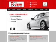 screenshot http://www.garagetoubin.fr Garage Toubin à Pontarlier