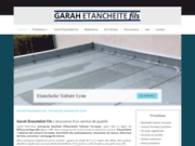 screenshot http://www.garah-etancheite-fils.fr étanchéité