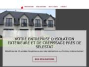 Entreprise d'isolation thermique et rénovation de façade près de Sélestat en Alsace