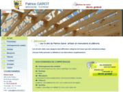 screenshot http://www.garot-menuiserie.fr platrerie, bardage, artisan garot patrice, lens
