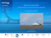 screenshot http://www.gaspe.fr groupement des armateurs de services publics maritimes de passages d'eau