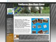 screenshot http://www.gautheronjf.fr viande bovine charolaise