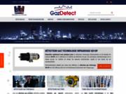 screenshot http://www.gazdetect.com gazdetect : expert en détection de gaz.