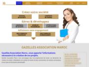 screenshot https://www.gazelles-association-maroc.com Gazelles Association Maroc