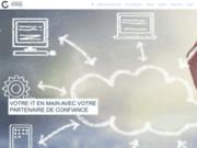 screenshot https://www.gdp-informatique.be/ dépannage informatique