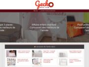 screenshot http://www.gecko-deco.com/ boutique de décoration asiatique charleroi
