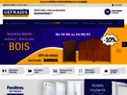 Expert de la menuiserie Gefradis PVC de qualité au meilleur prix : Volet PVC, porte et fenêtre