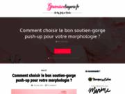 screenshot http://www.generation-lingerie.fr génération lingerie