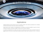screenshot http://www.geodesie-maintenance.com/fr/ gms, outils et services de métrologie