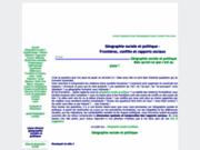 Géographie sociale et politique