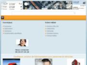 screenshot http://www.georeport.fr tekanova - géolocalisation de véhicules