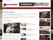 screenshot https://gerersonrestaurant.fr/ Gérer son restaurant