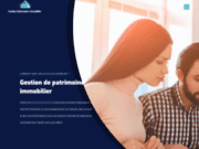 screenshot http://gestion-patrimoine-immobilier.eu/ Patrimoine immobilier