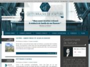 screenshot http://www.gestionnairedefortune.fr/ gestion de patrimoine et de fortune