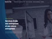 screenshot http://www.gestionpaieformation-consultants.fr/ gestion de personnel paris ile de france