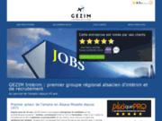 Gezim Interim, groupement d'intérim et de formation en Alsace et en Moselle